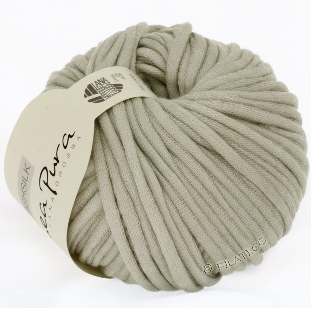 Lana Grossa CASHSILK (Linea Pura) | 13-light gray