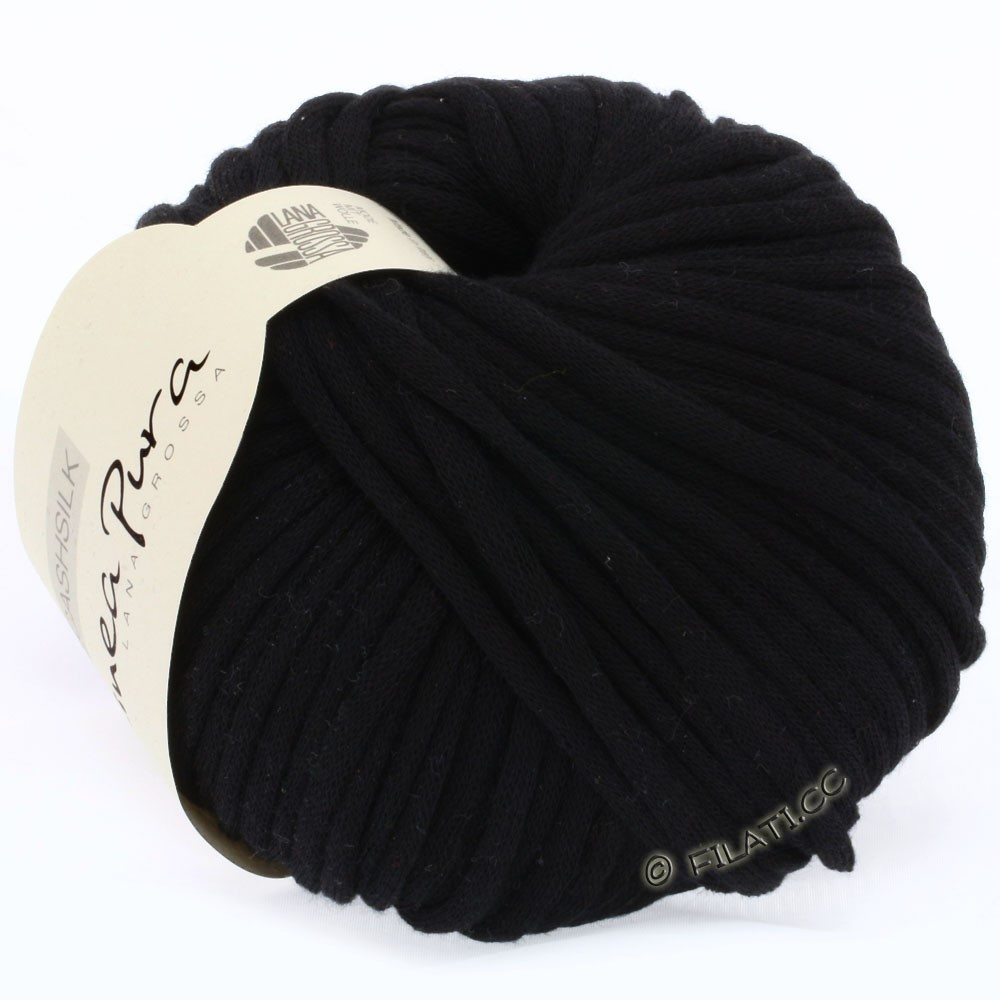 Lana Grossa CASHSILK (Linea Pura) | 15-black