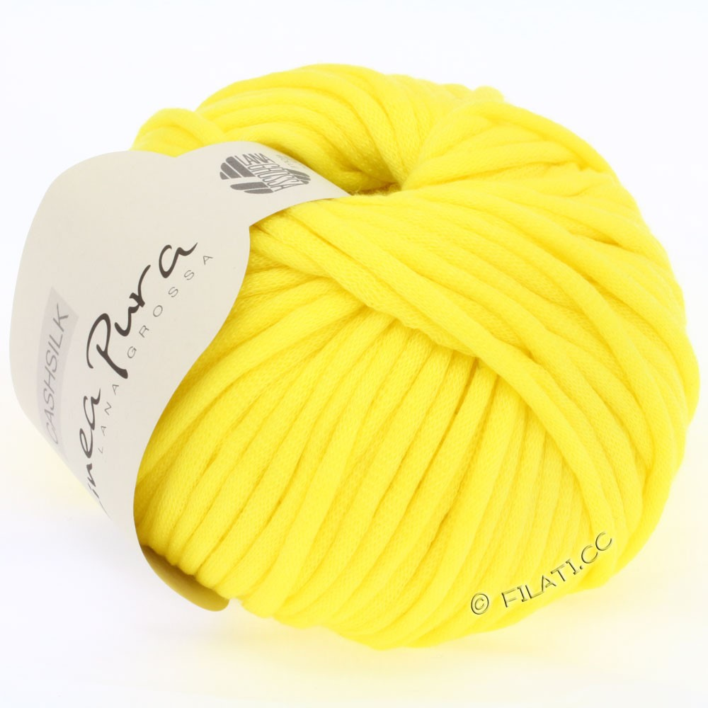 Lana Grossa CASHSILK (Linea Pura)   23-lemon yellow