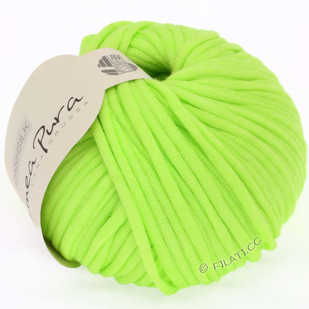 Lana Grossa CASHSILK (Linea Pura) | 24-light apple green