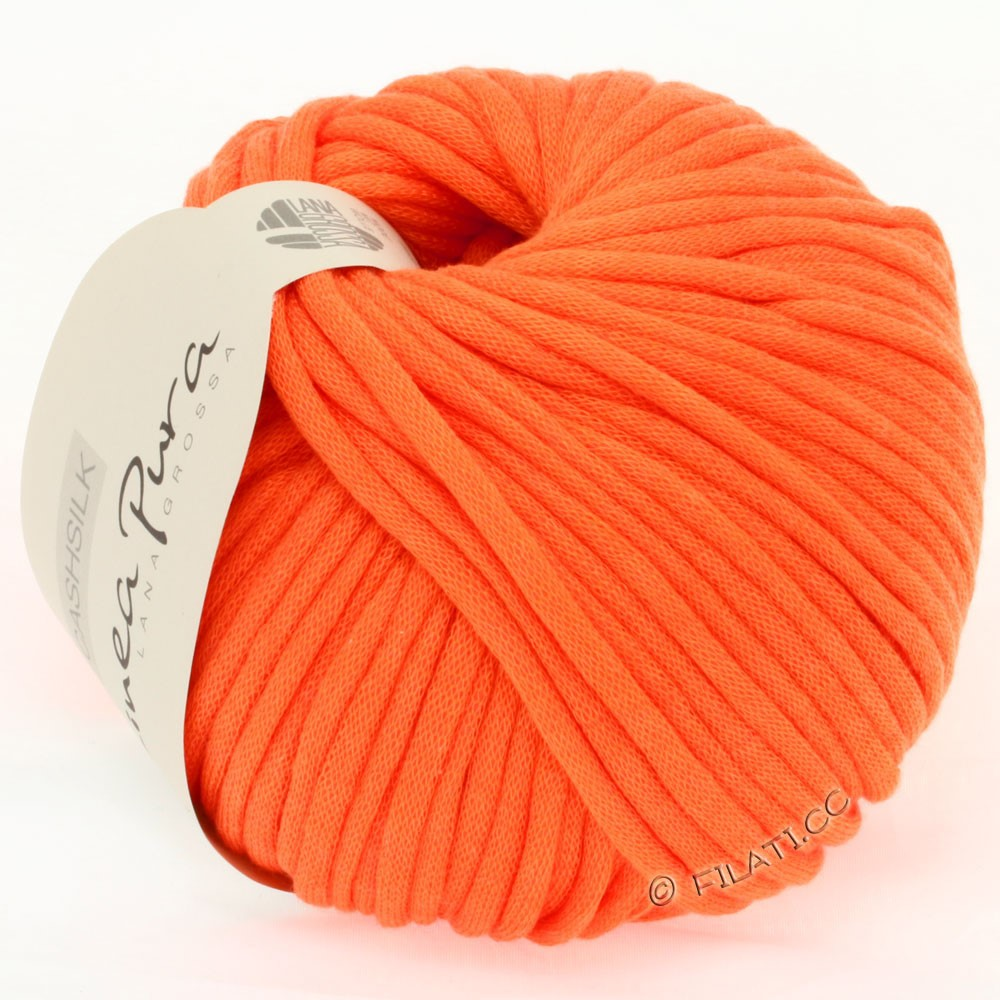 Lana Grossa CASHSILK (Linea Pura) | 26-orange