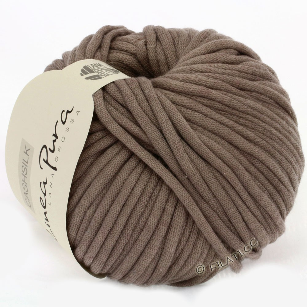 Lana Grossa CASHSILK (Linea Pura) | 30-gray brown