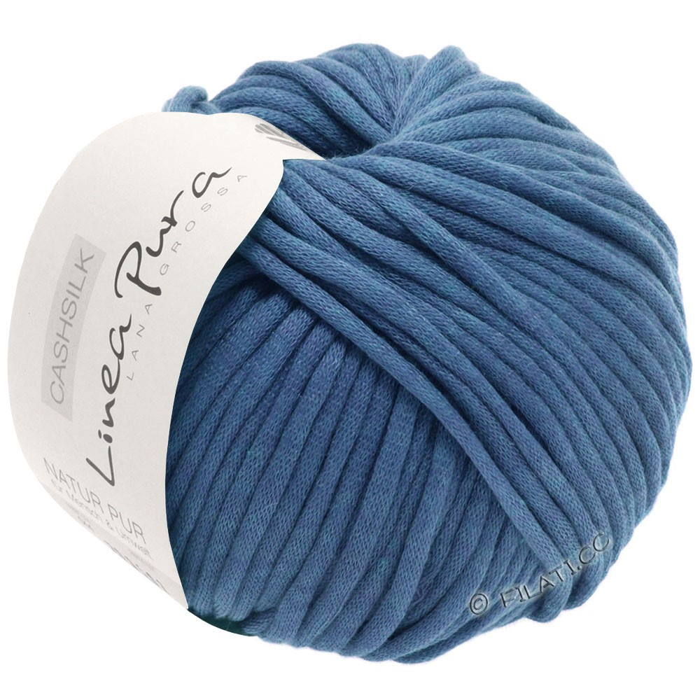 Lana Grossa CASHSILK (Linea Pura) | 52-steel blue