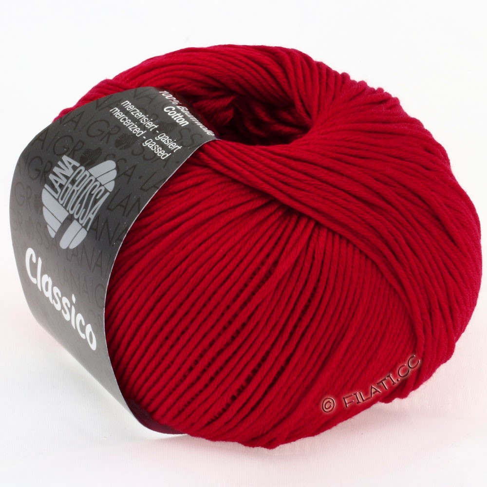 Lana Grossa CLASSICO Uni | 05-ruby red