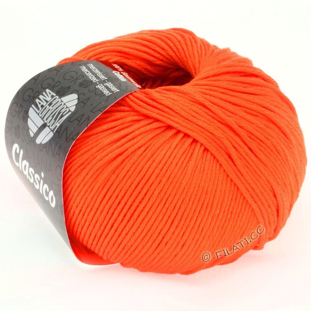 Lana Grossa CLASSICO Uni | 11-orange