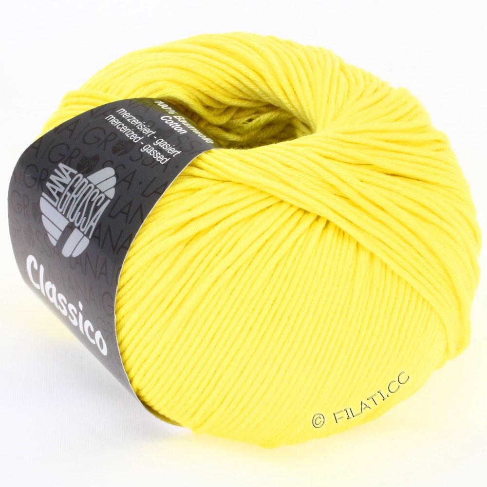 Lana Grossa CLASSICO Uni | 12-yellow