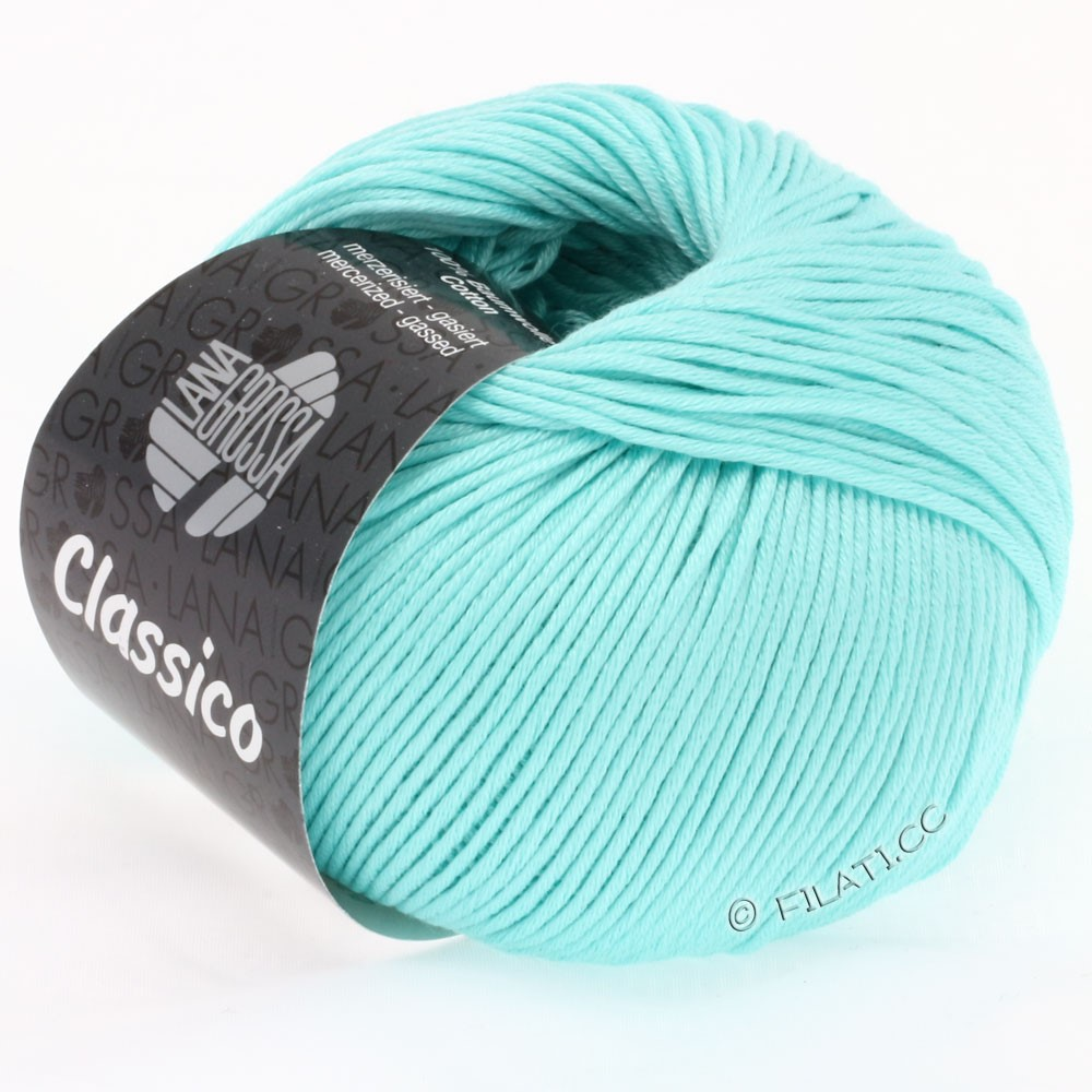 Lana Grossa CLASSICO Uni | 22-pastel turquoise