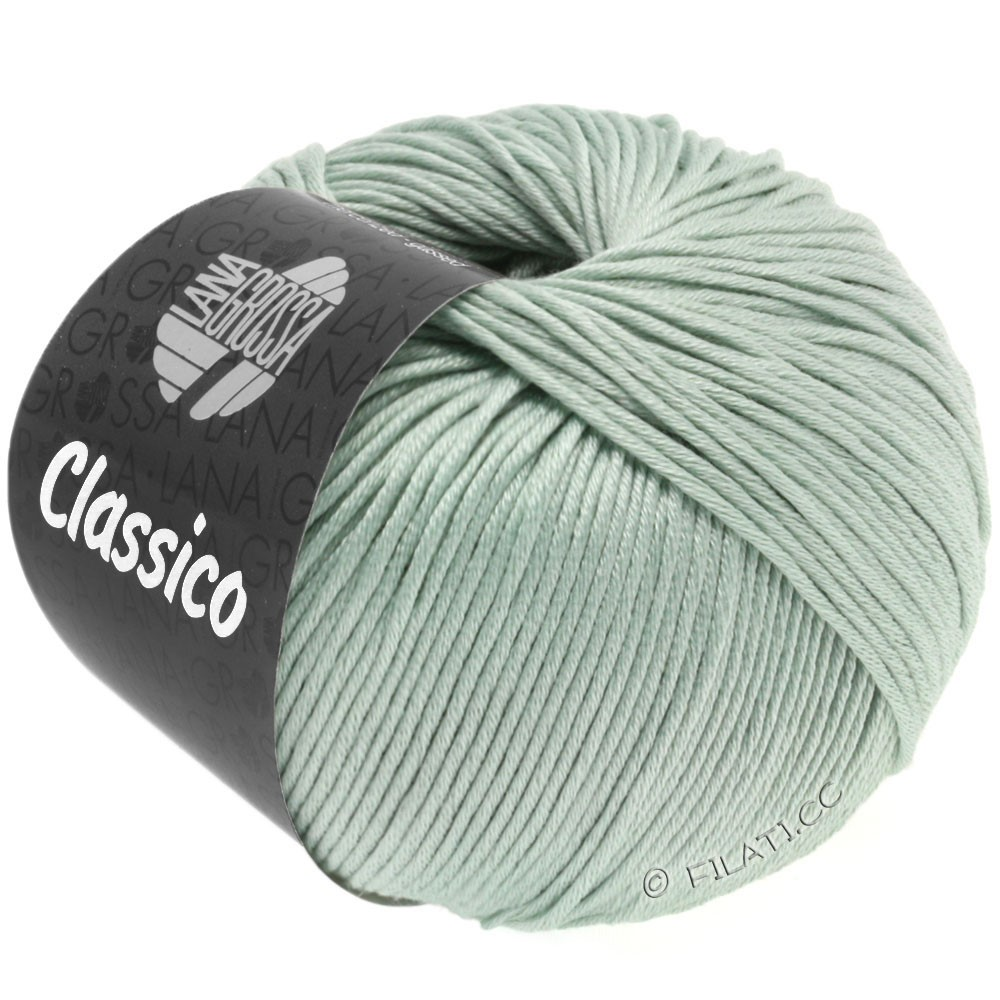 Lana Grossa CLASSICO Uni | 38-gray green