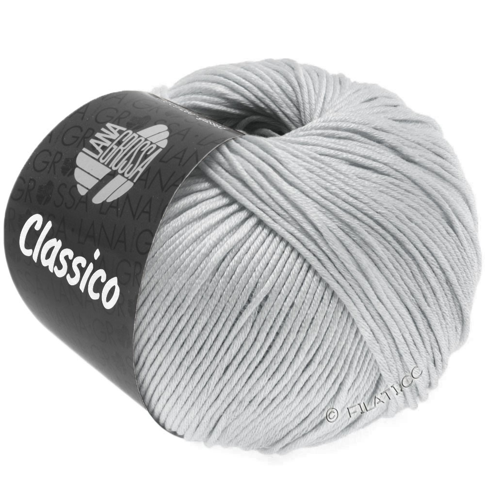 Lana Grossa CLASSICO Uni | 57-silver gray
