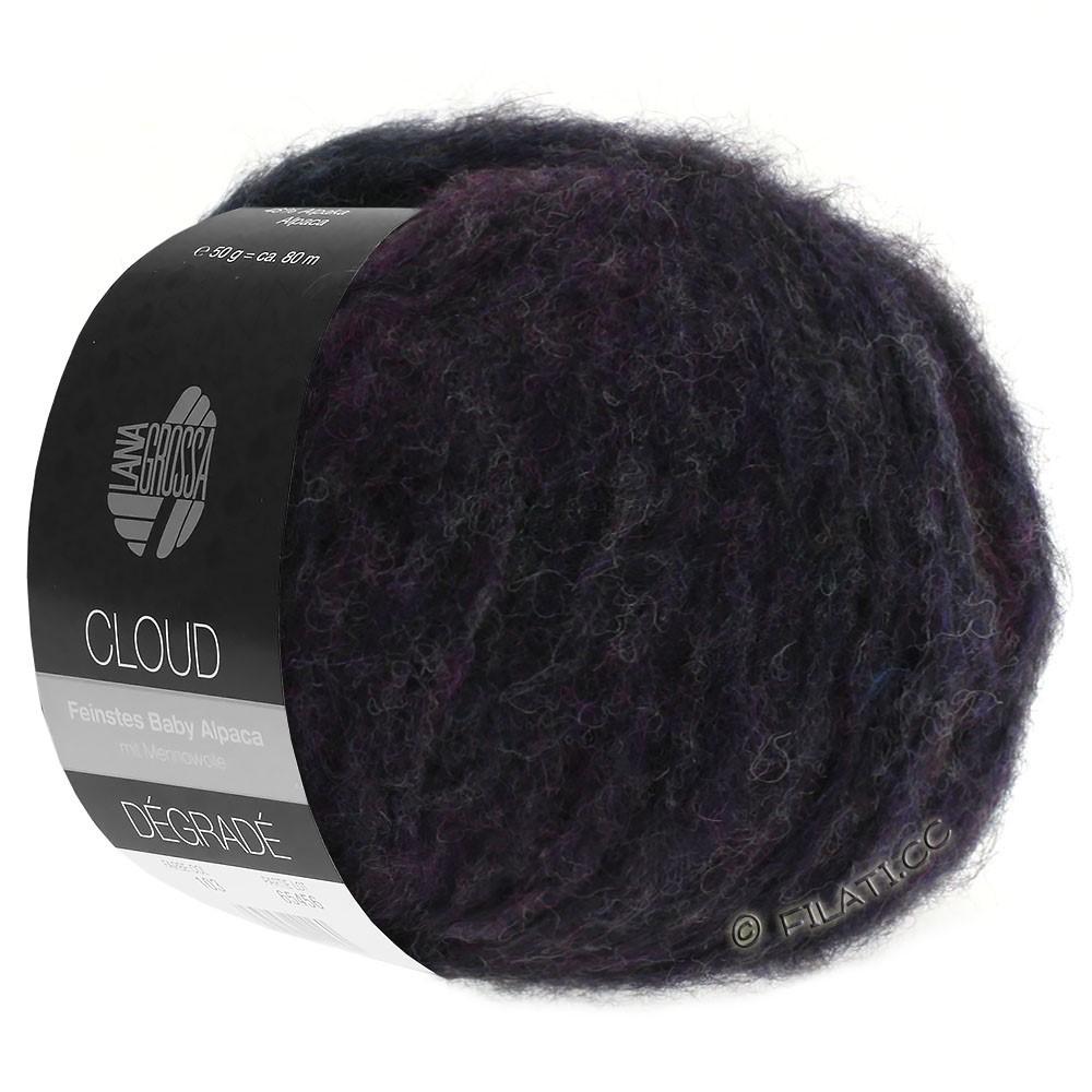 Lana Grossa CLOUD Dégradé | 106-blue violet/khaki
