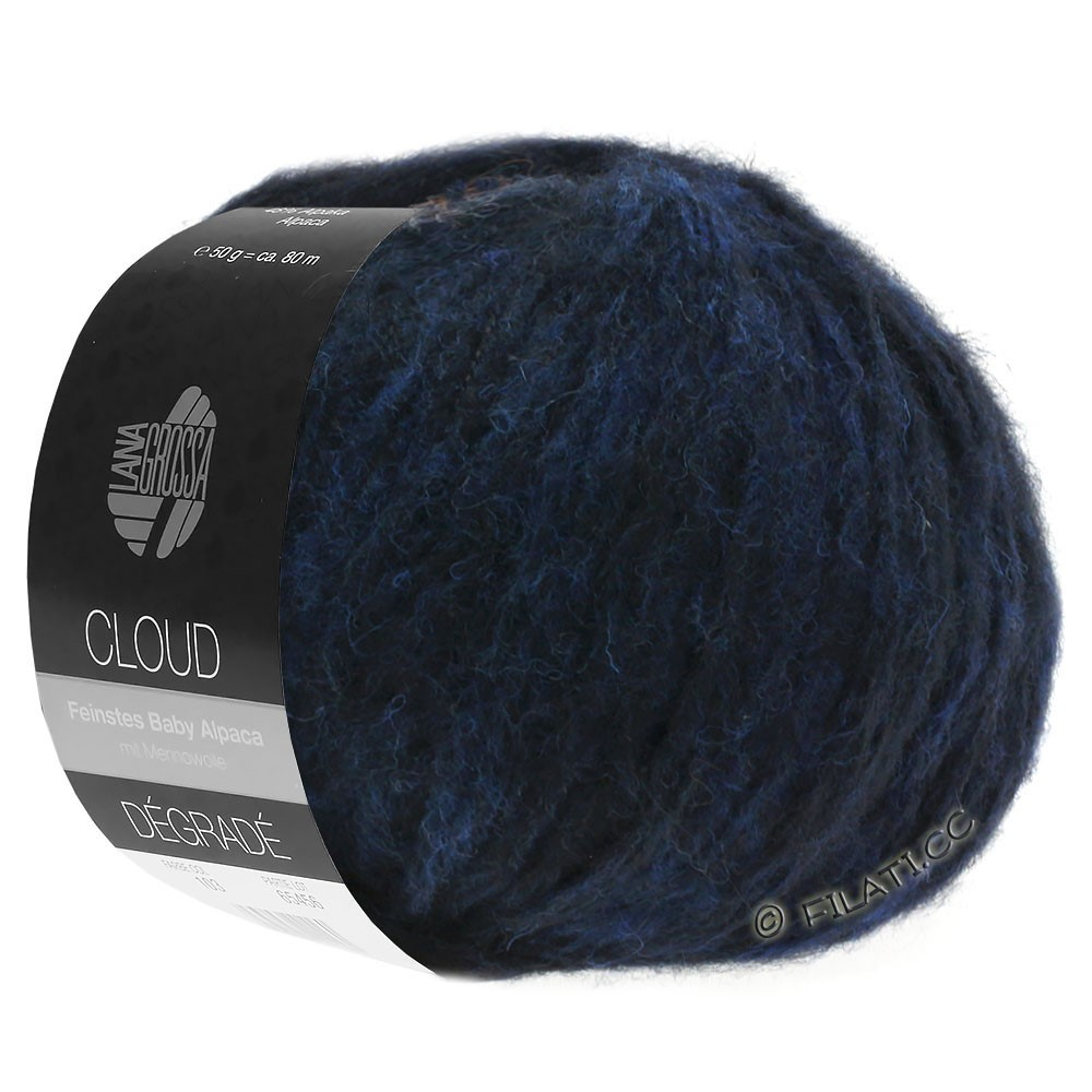 Lana Grossa CLOUD Degradé | 107-night blue/black