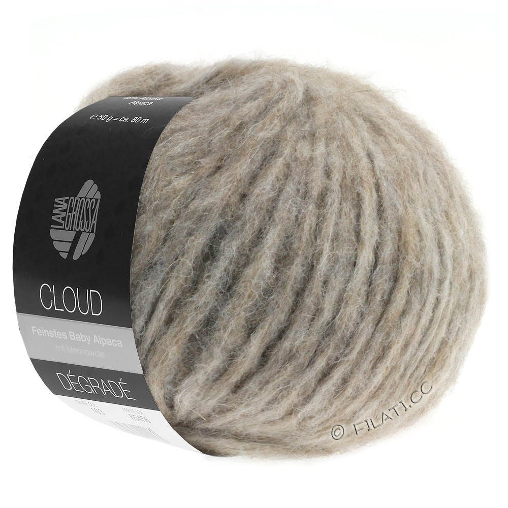 Lana Grossa CLOUD Degradé | 109-natural/taupe