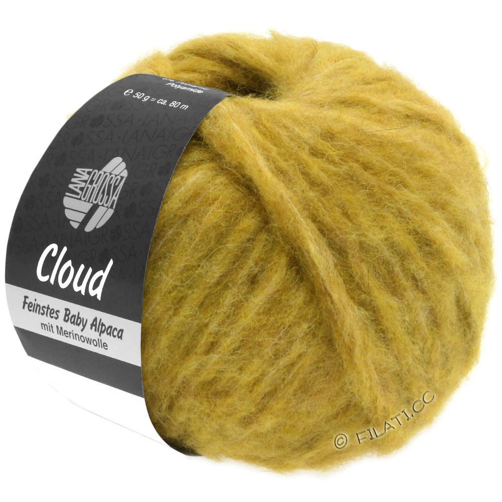 Lana Grossa CLOUD | 05-honey yellow