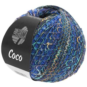 Lana Grossa COCO | 07-blue/light gray/turquoise/purple/sand