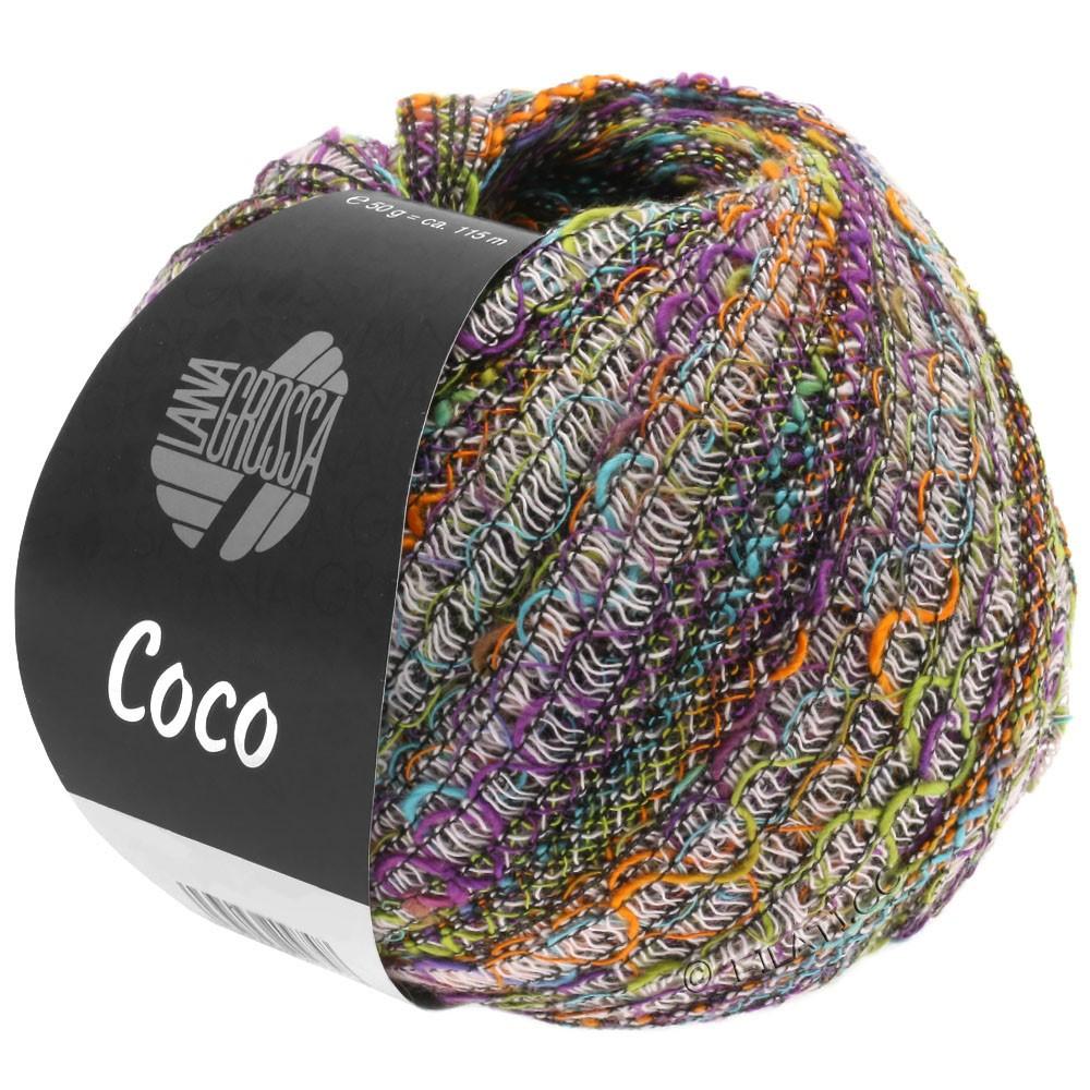 Lana Grossa COCO | 10-rose/violet/pistachio/orange/turquoise