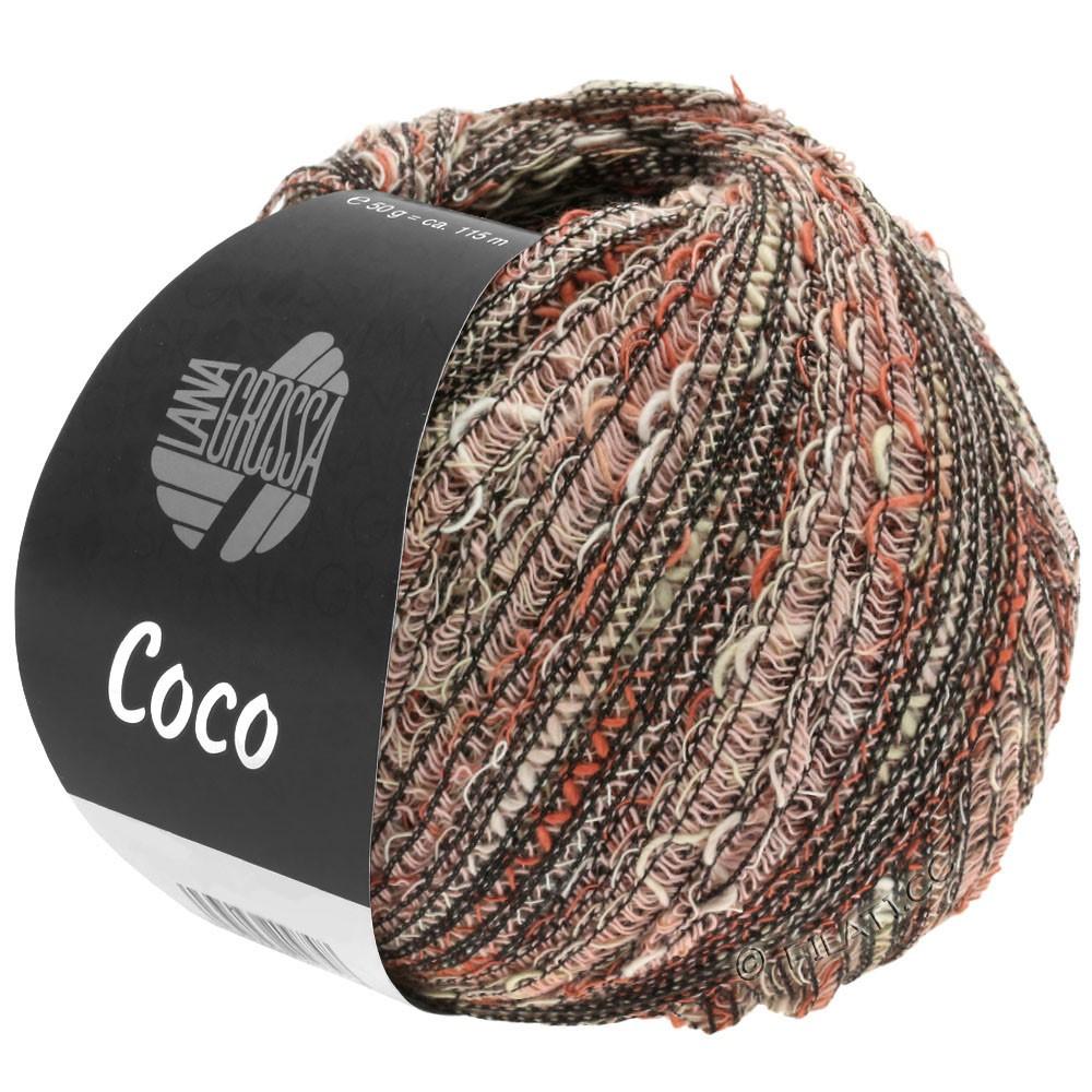 Lana Grossa COCO | 13-natural/terracotta/rose