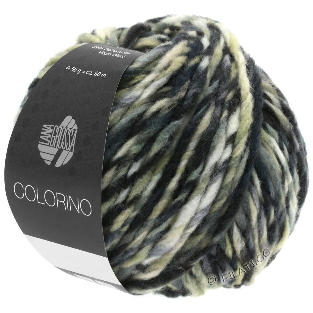 Lana Grossa COLORINO | 12-dark brown/beige/gray/anthracite