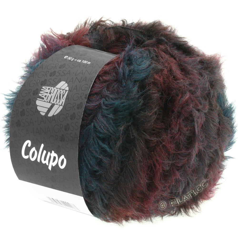 Lana Grossa COLUPO | 02-burgundy/anthracite