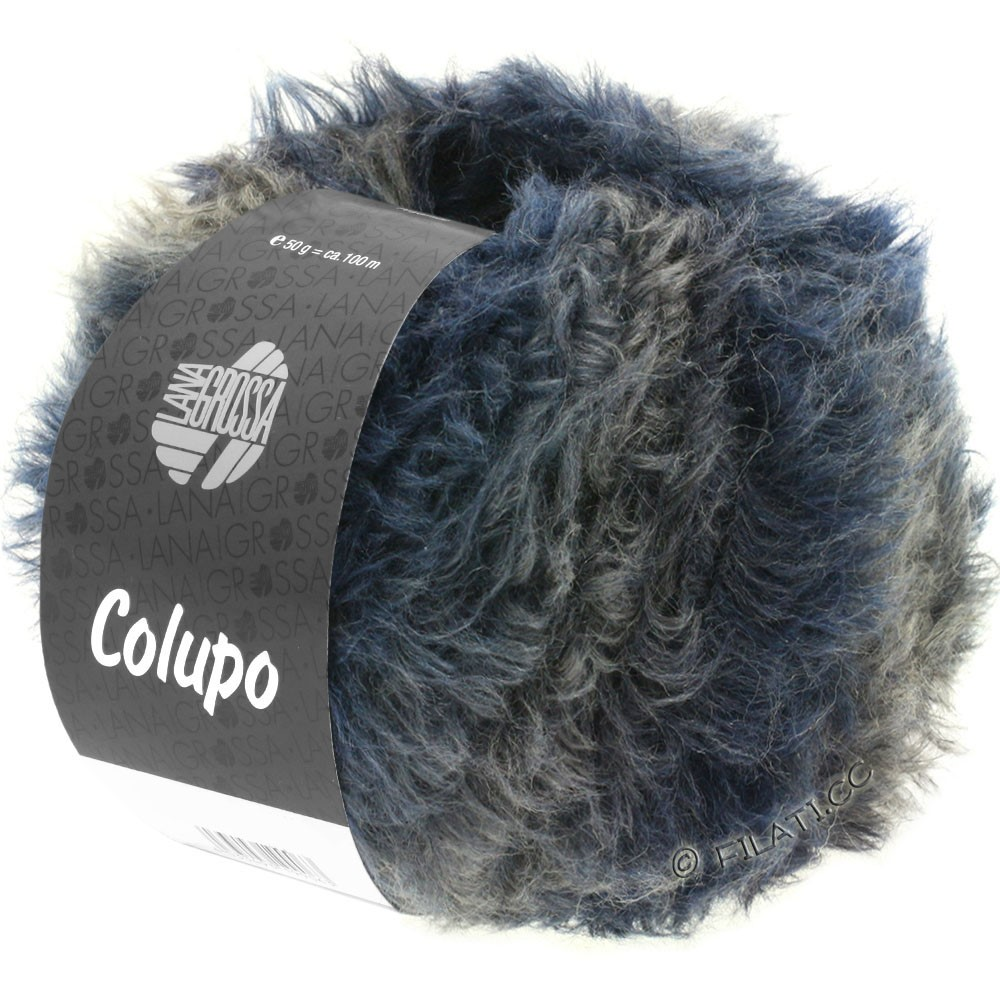 Lana Grossa COLUPO | 03-dark blue/black blue