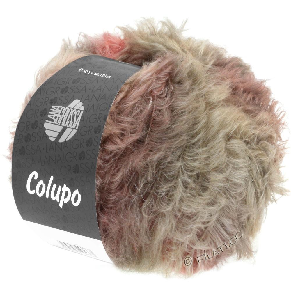 Lana Grossa COLUPO | 07-taupe/tulipwood
