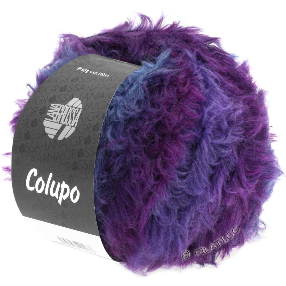 Lana Grossa COLUPO | 11-dark gray/purple