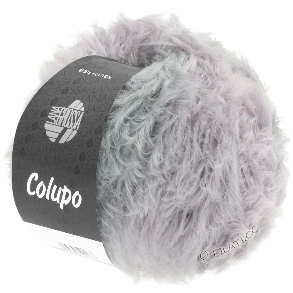 Lana Grossa COLUPO | 12-raw white/pale rose