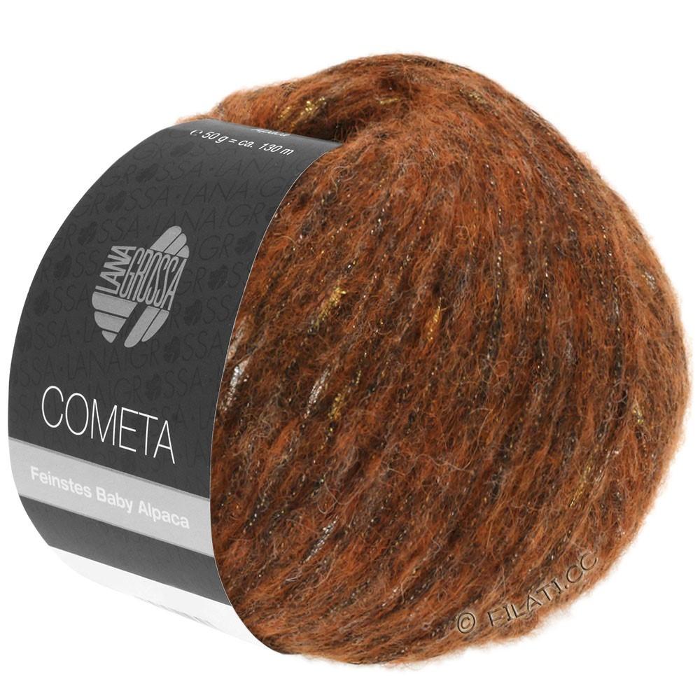 Lana Grossa COMETA | 004-copper/gold/silver