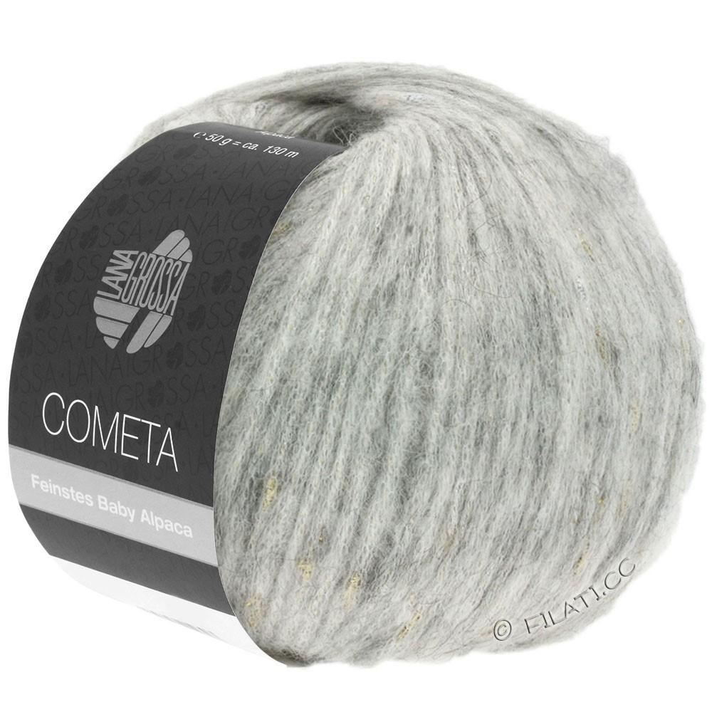 Lana Grossa COMETA | 008-silver gray/gold/silver