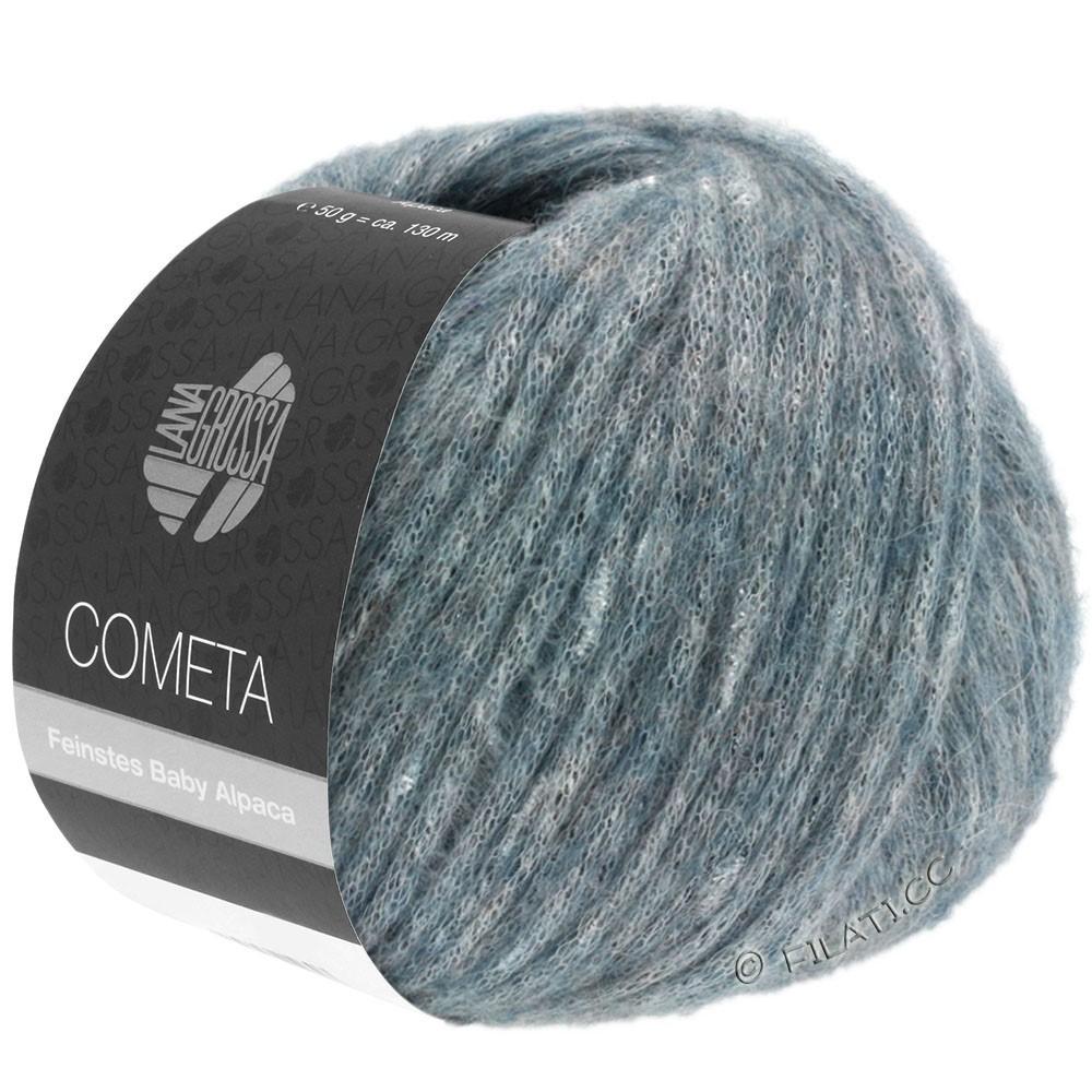 Lana Grossa COMETA | 010-gray blue/silver