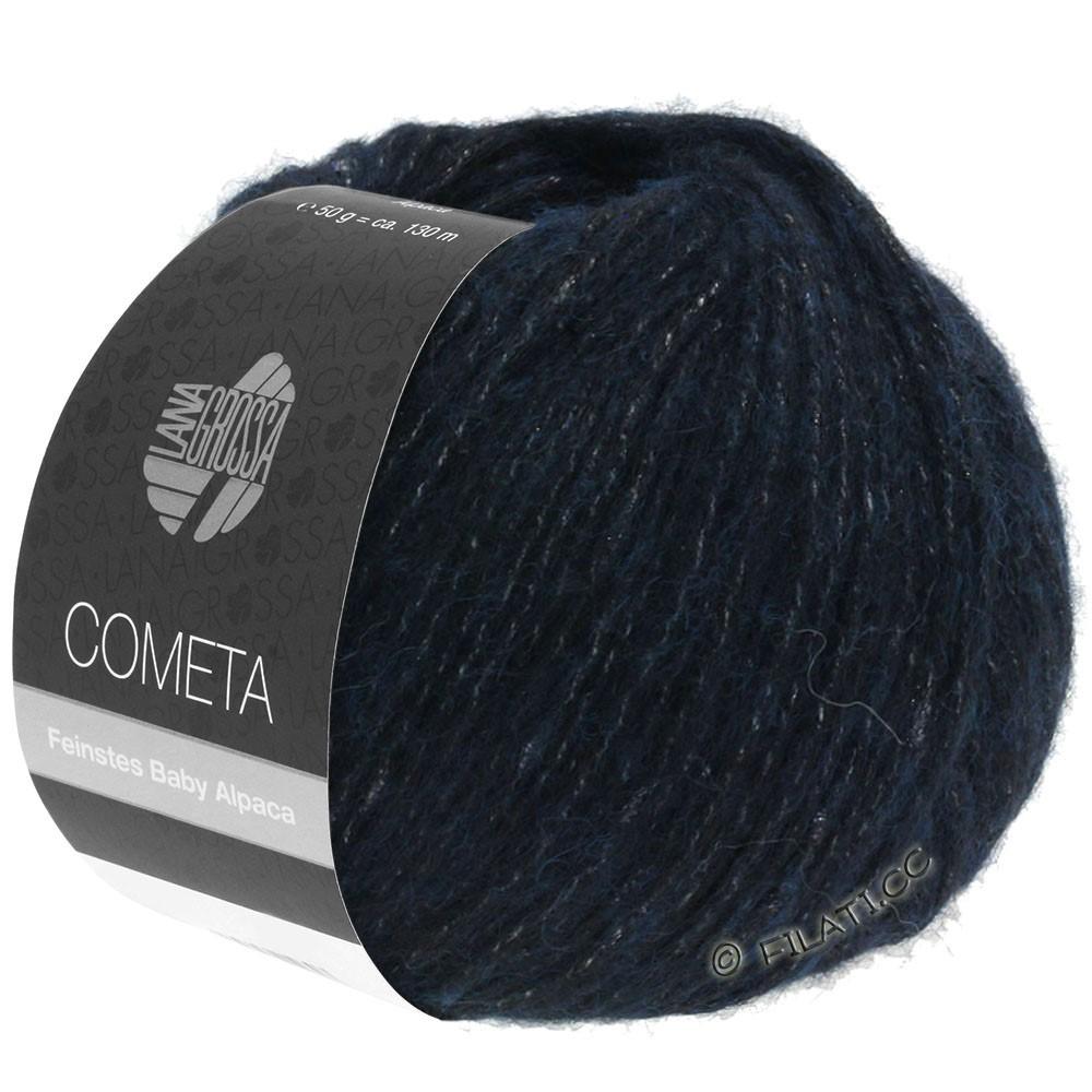 Lana Grossa COMETA | 011-night blue/silver