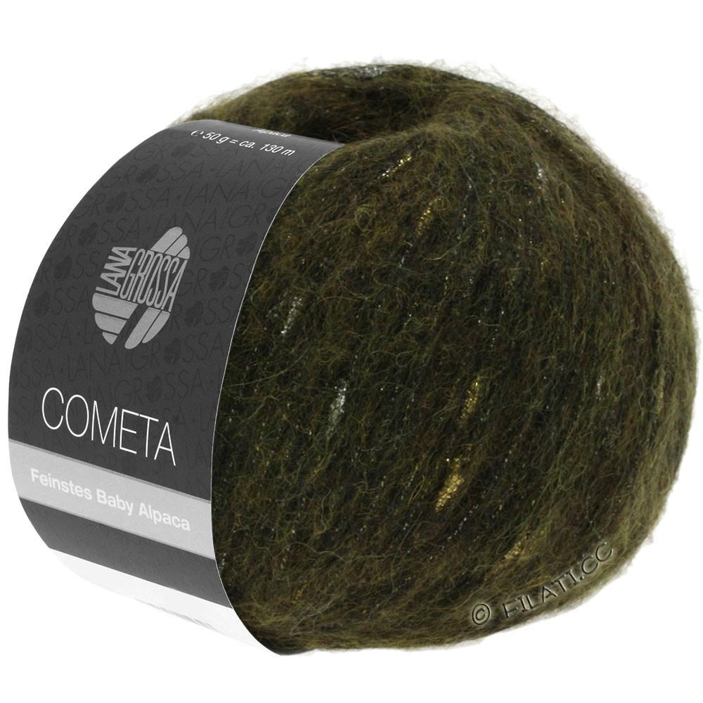 Lana Grossa COMETA | 013-khaki/gold/silver