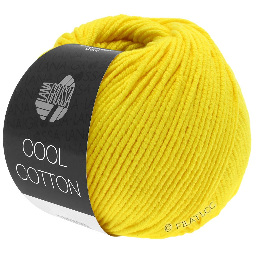 Lana Grossa COOL COTTON   10-yellow