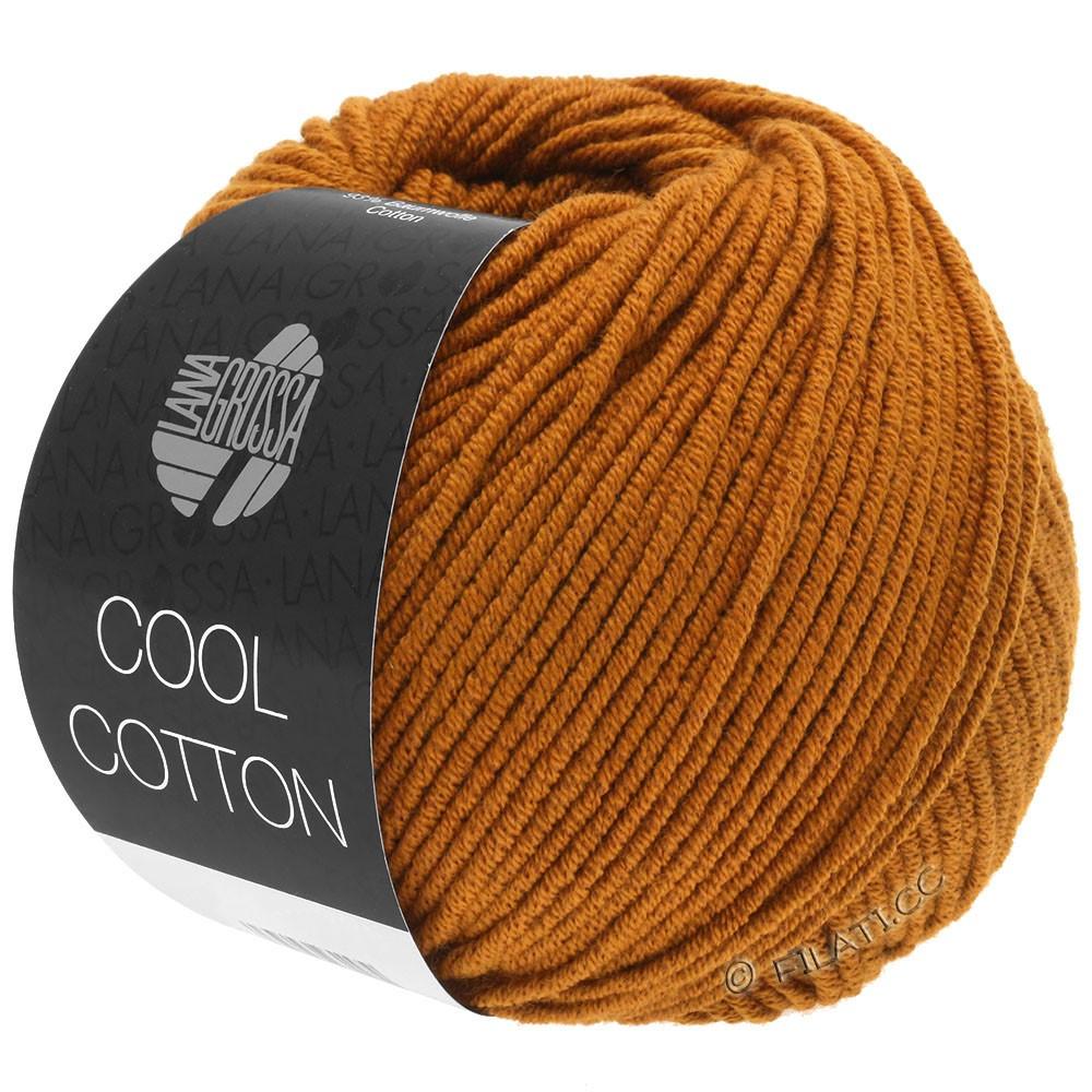 Lana Grossa COOL COTTON   11-ochre brown