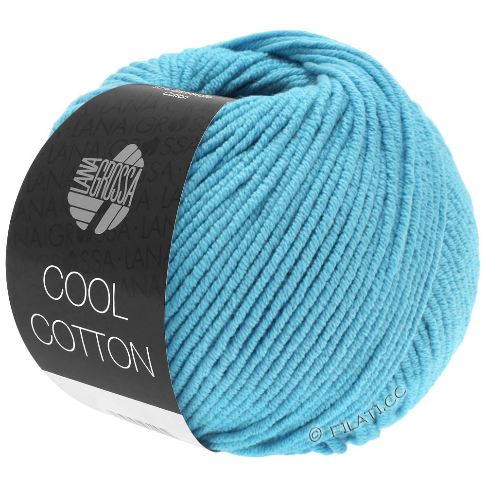 Lana Grossa COOL COTTON   14-turquoise