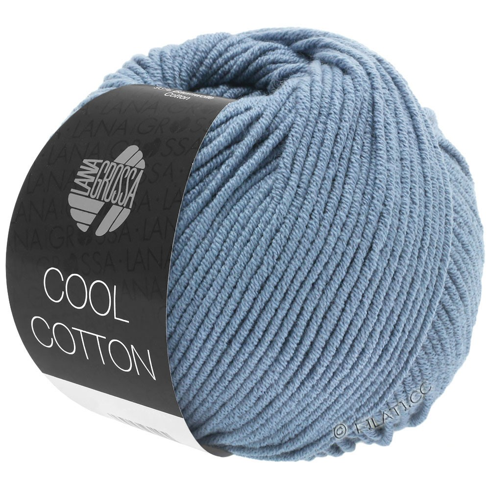 Lana Grossa COOL COTTON   17-pigeon blue