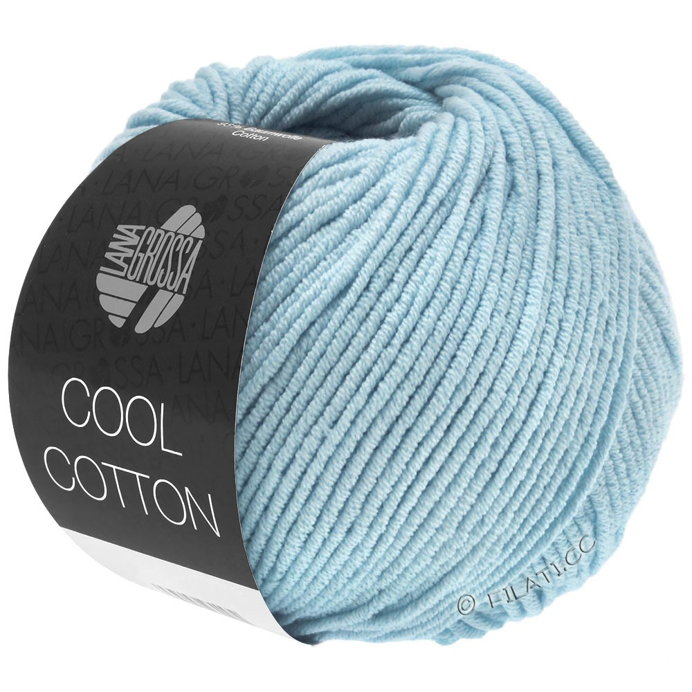 Lana Grossa COOL COTTON   18-light blue