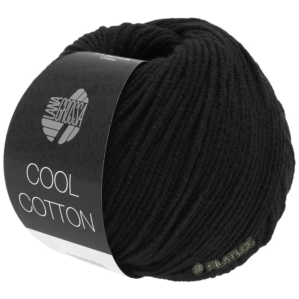 Lana Grossa COOL COTTON   26-black
