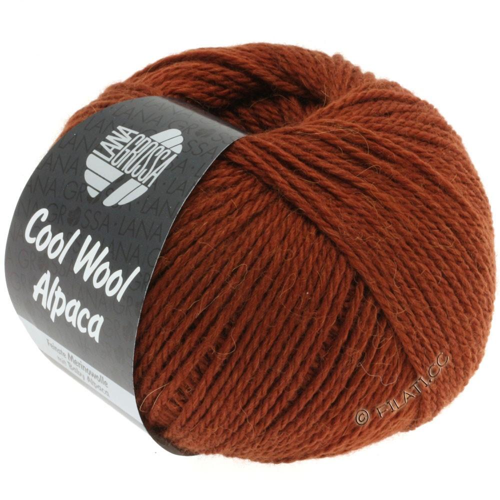 Lana Grossa COOL WOOL Alpaca   02-brown