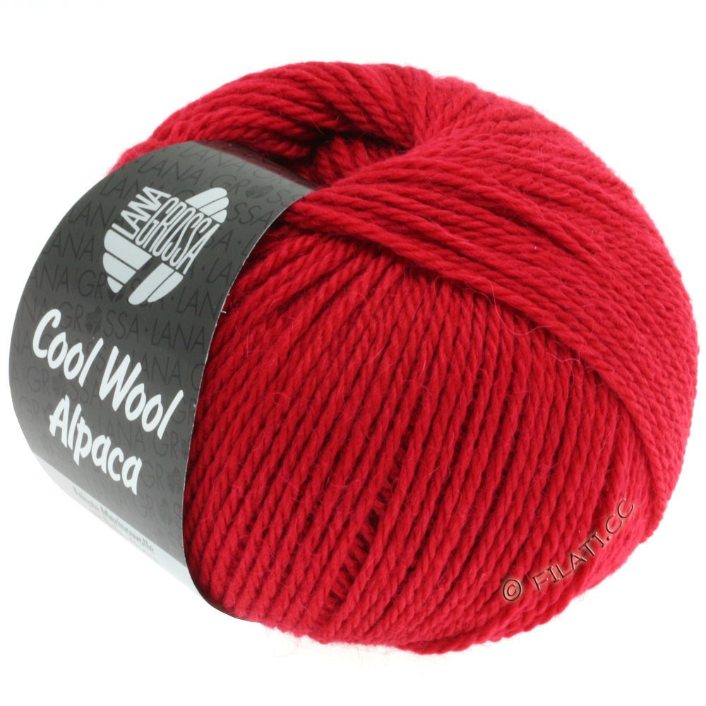 Lana Grossa COOL WOOL Alpaca | 04-red