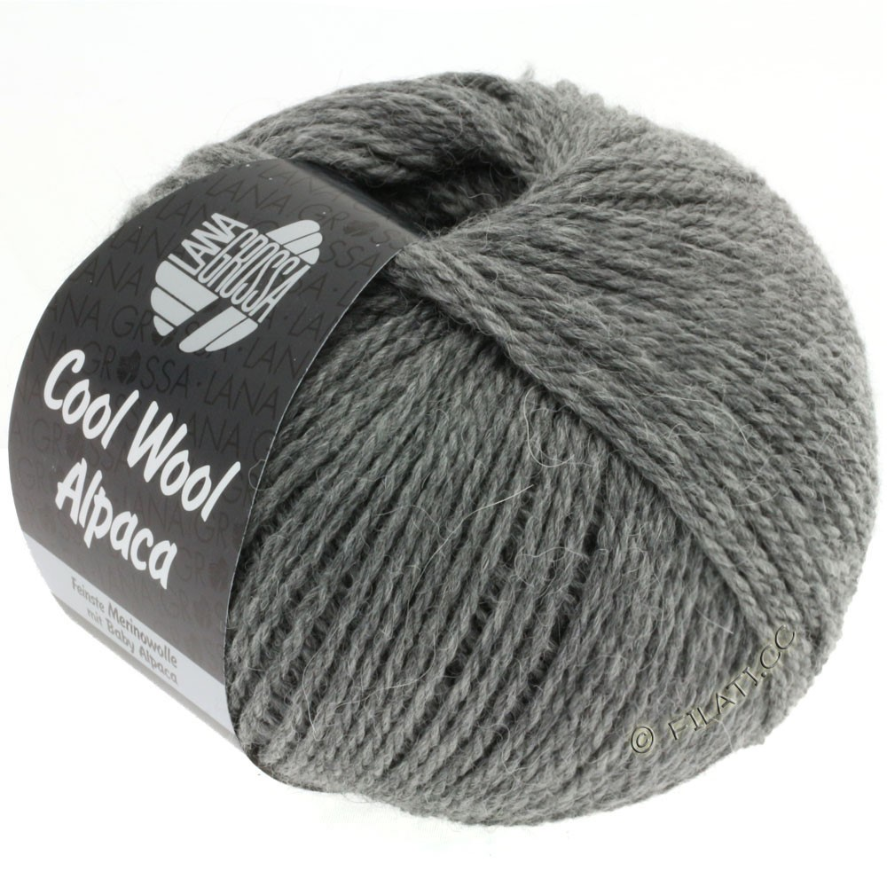 Lana Grossa COOL WOOL Alpaca | 06-dark gray