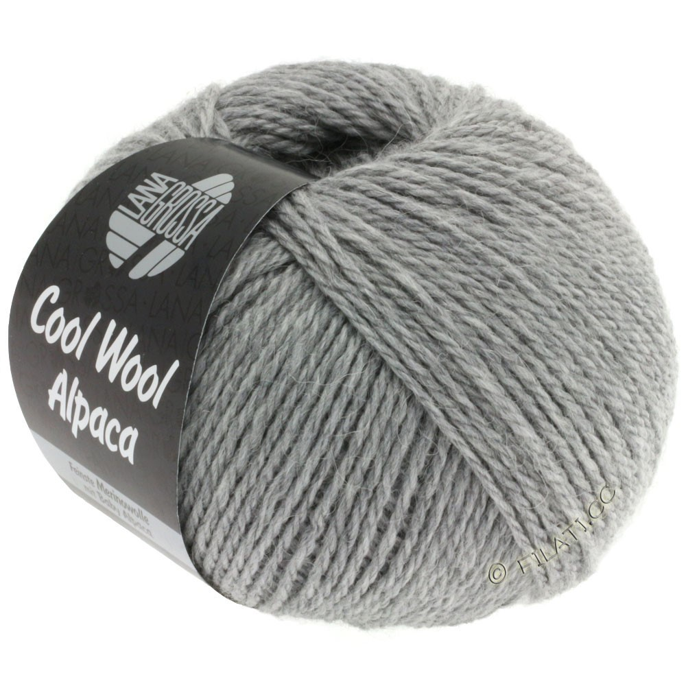Lana Grossa COOL WOOL Alpaca | 07-light gray