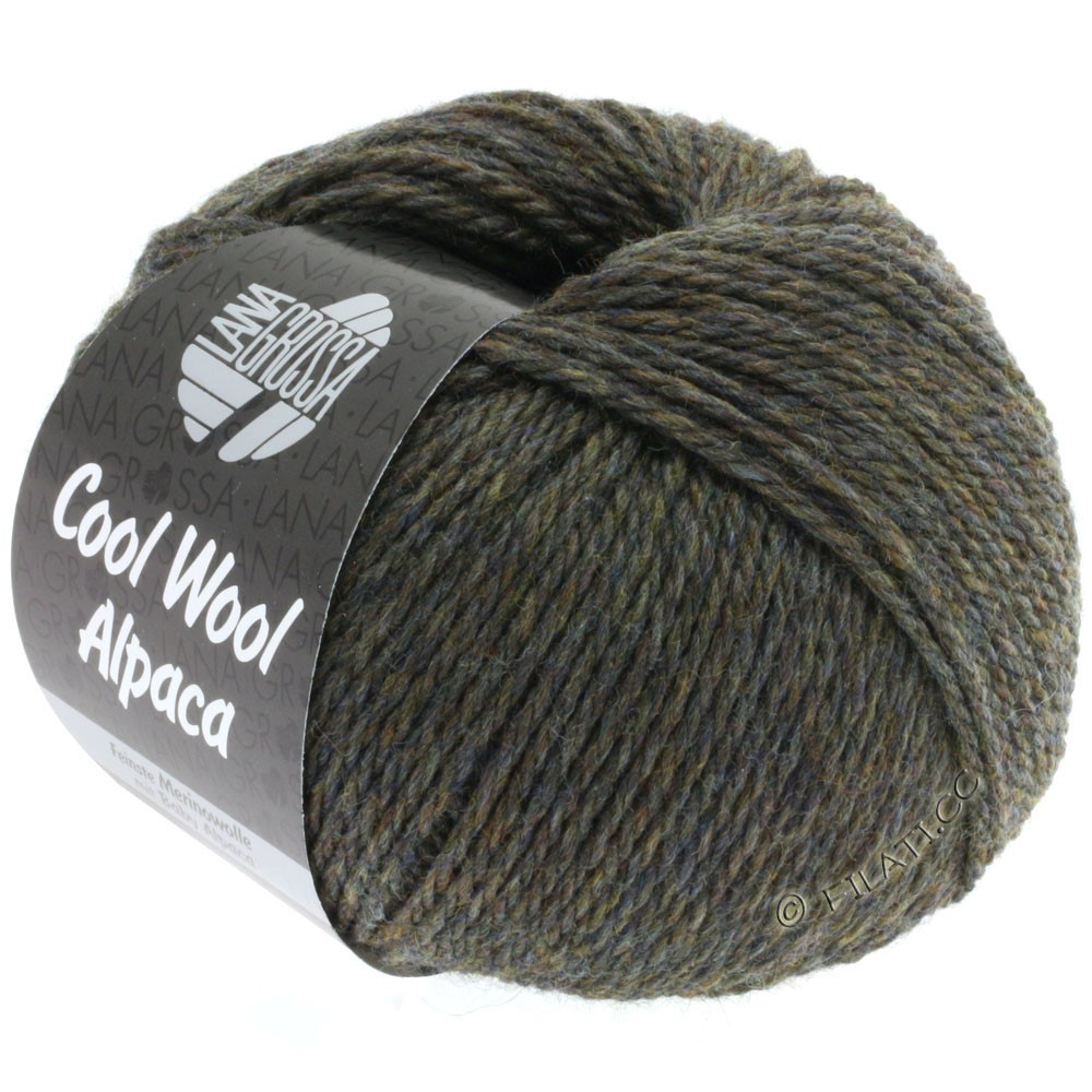 Lana Grossa COOL WOOL Alpaca | 11-mud