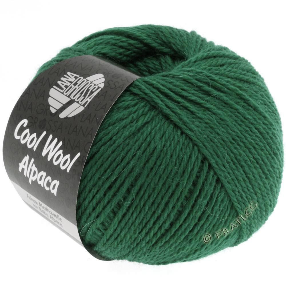 Lana Grossa COOL WOOL Alpaca | 16-bottle green