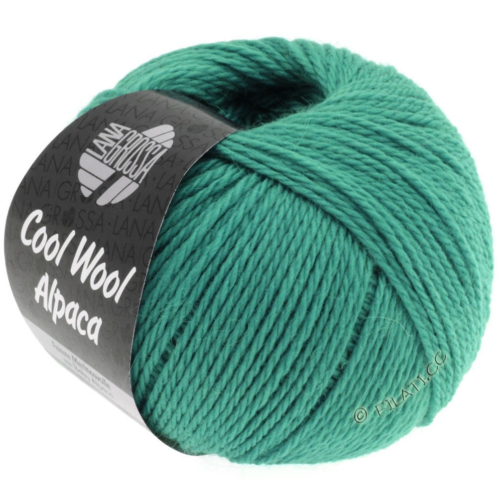 Lana Grossa COOL WOOL Alpaca | 17-petrol green