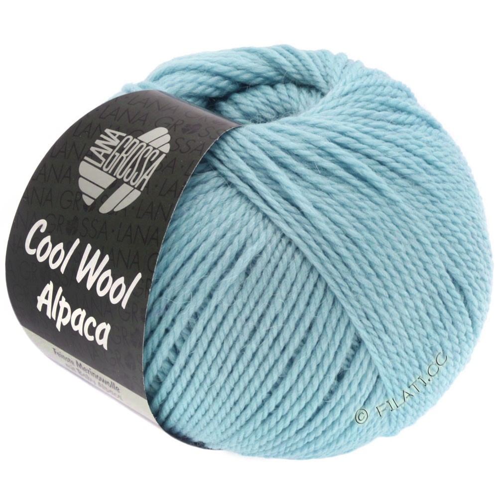 Lana Grossa COOL WOOL Alpaca | 18-light blue