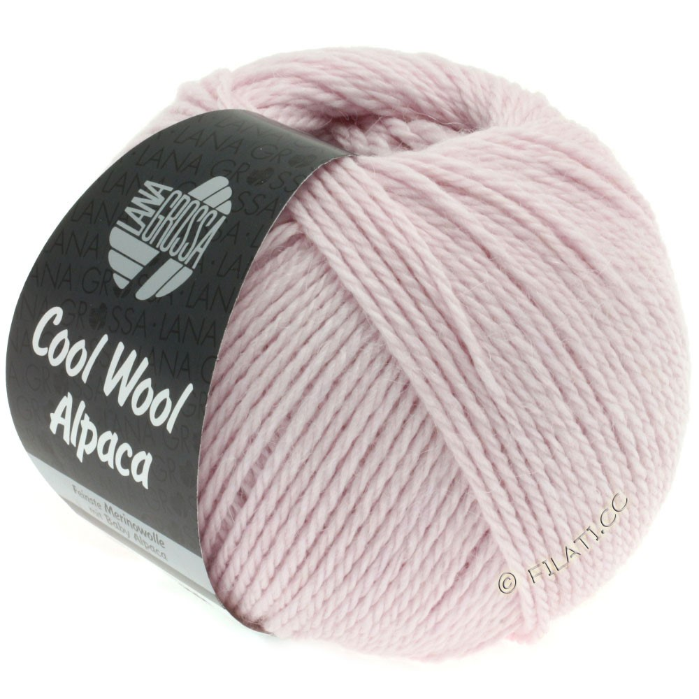 Lana Grossa COOL WOOL Alpaca | 20-pale rose