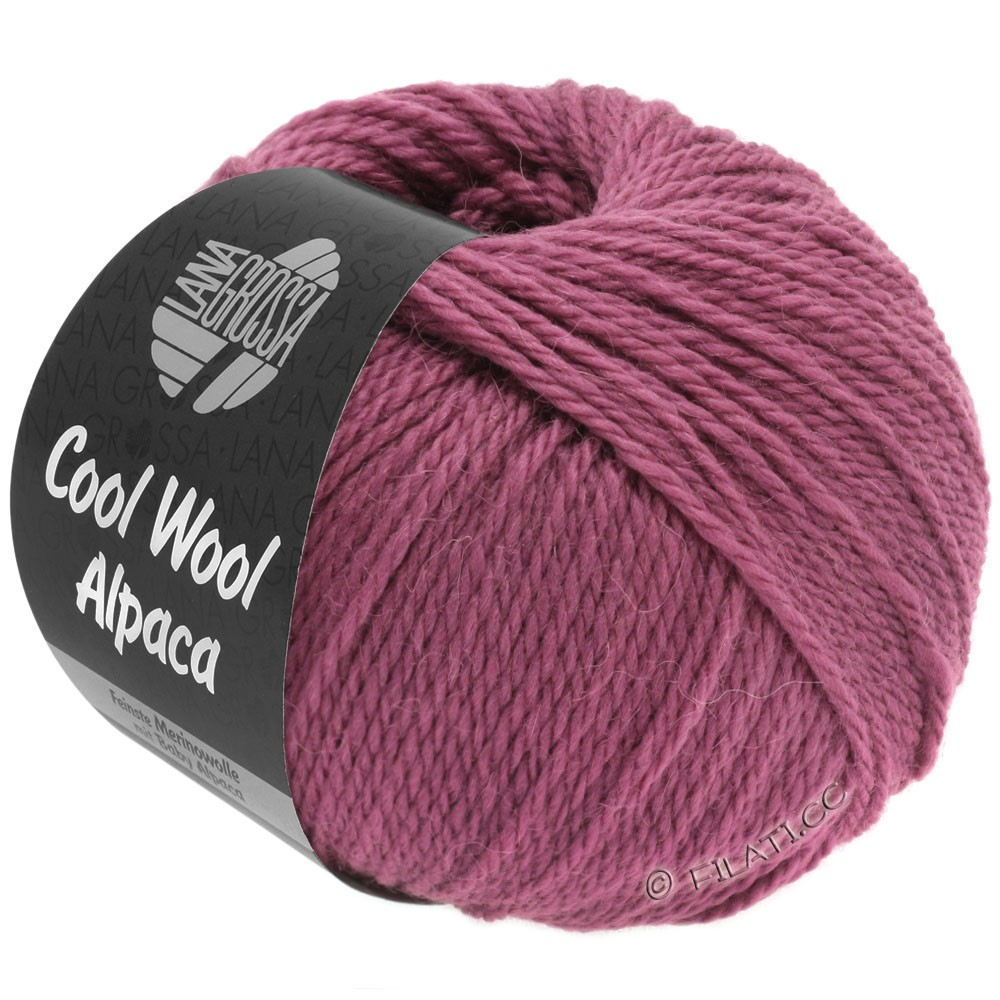 Lana Grossa COOL WOOL Alpaca | 25-berry