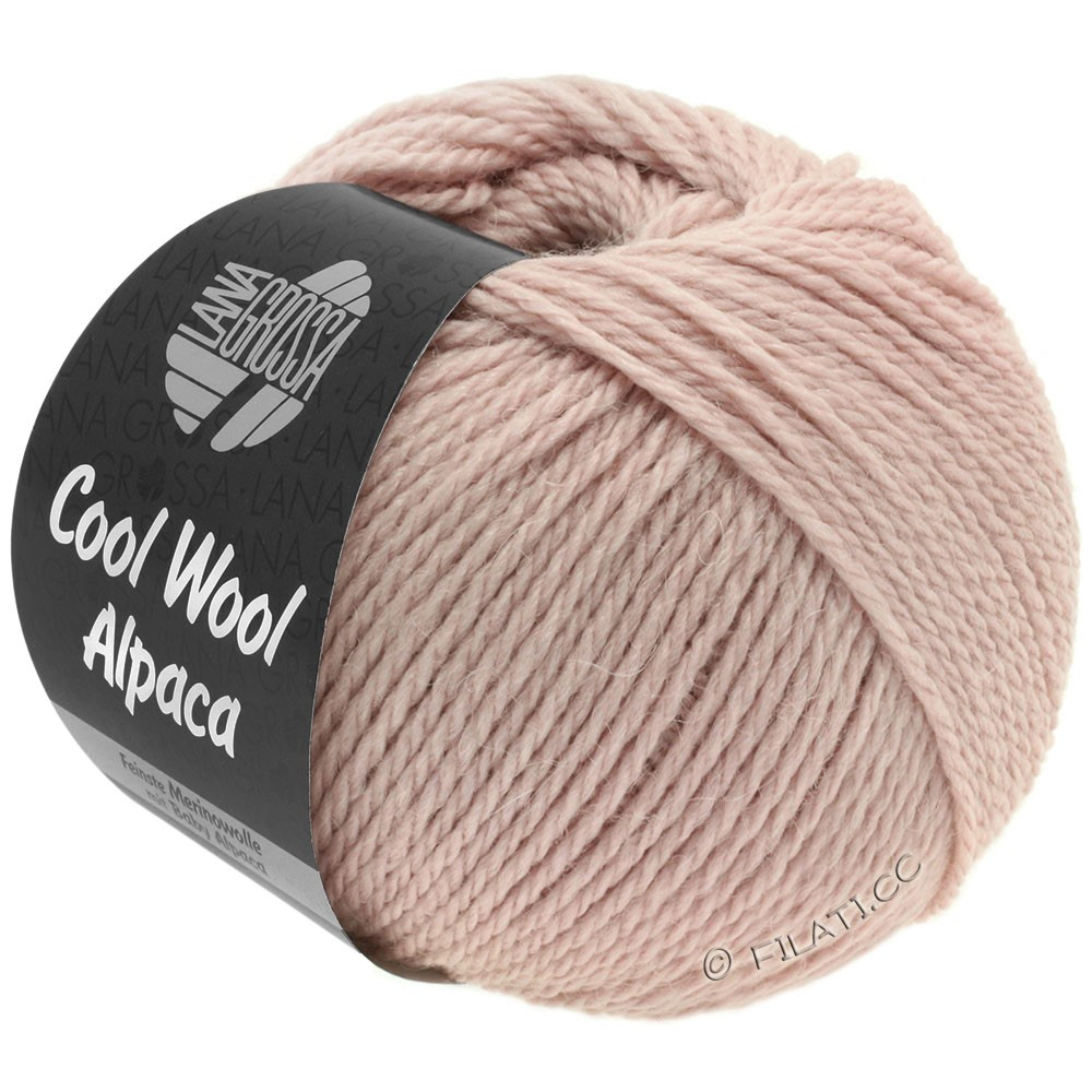 Lana Grossa COOL WOOL Alpaca | 26-powder rose
