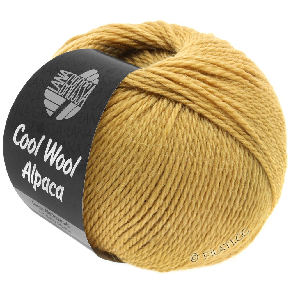 Lana Grossa COOL WOOL Alpaca | 28-light brown