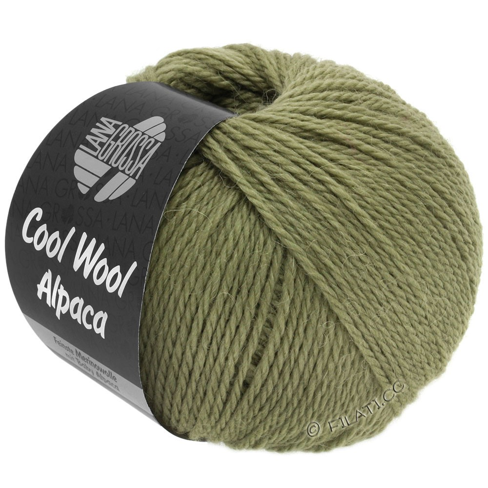 Lana Grossa COOL WOOL Alpaca | 29-hay green